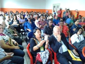 O evento lotou o Salão do Juri da Comarca de Amargosa/BA
