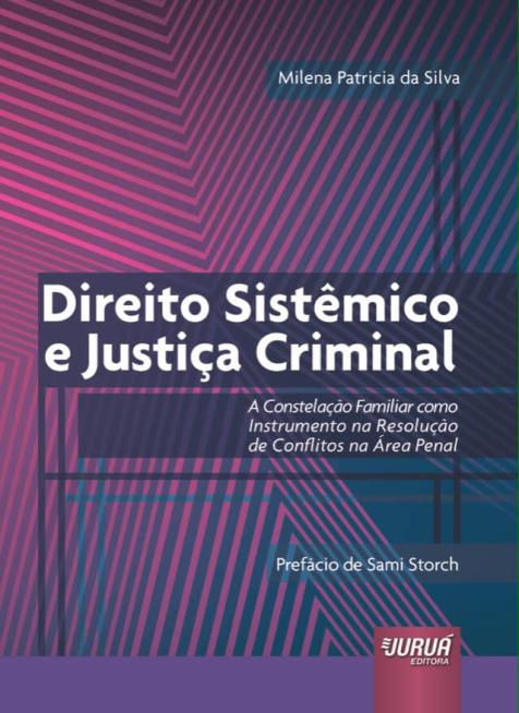 Livro Direito Sistêmico e Justiça Criminal - capa